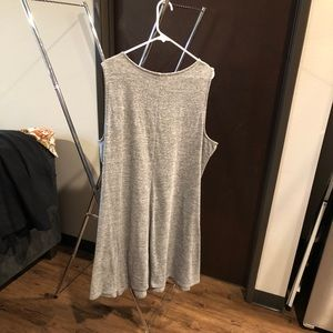 Jennifer Lopez Crisscross Grey Dress 3x